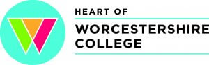 This is logo of Heart of Worcestershire College