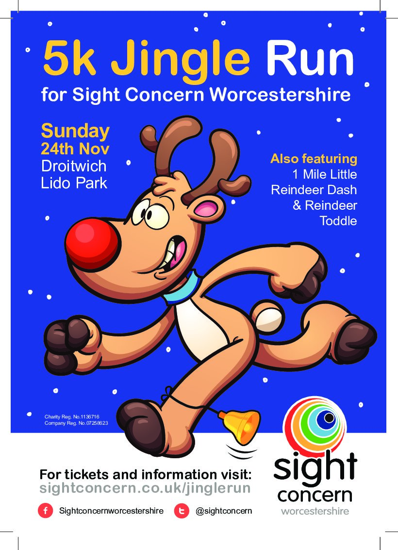 It's Jingle All the Way for Sight Concern Worcestershire!
